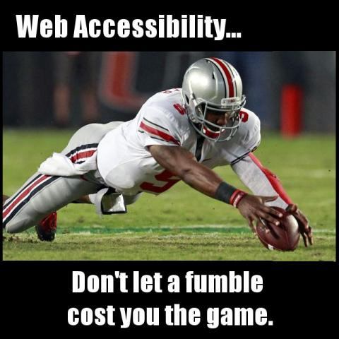 web accessibility meme